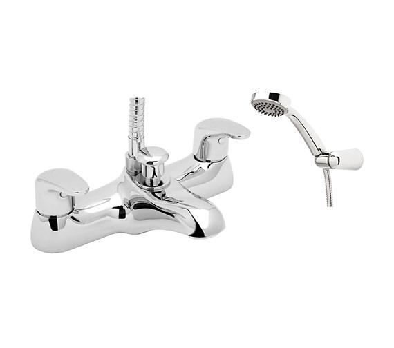 Deva Adore Chrome Bath Shower Mixer Tap