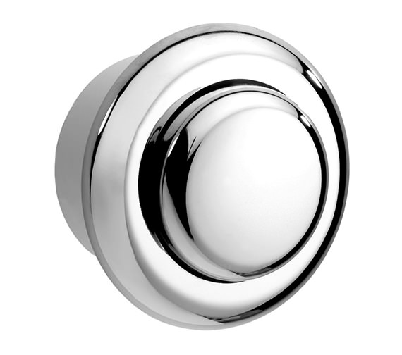 Twyford Single Flush Small Air Button Chrome - CF9001CP