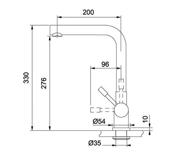 Technical drawing QS-V71954 / 1190273102 BOM