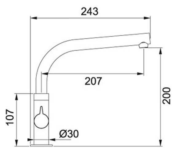 Technical drawing QS-V10413 / 1150250639