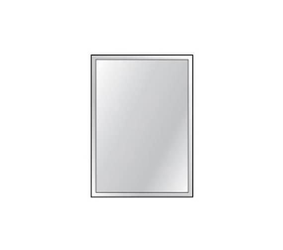 HIB Bevelled Mirror 4mm Float Glass 250 x 350mm 3 Piece Set