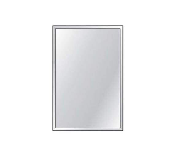 HIB Bevelled Mirror 4mm Float Glass 300 x 450mm 3 Piece Set