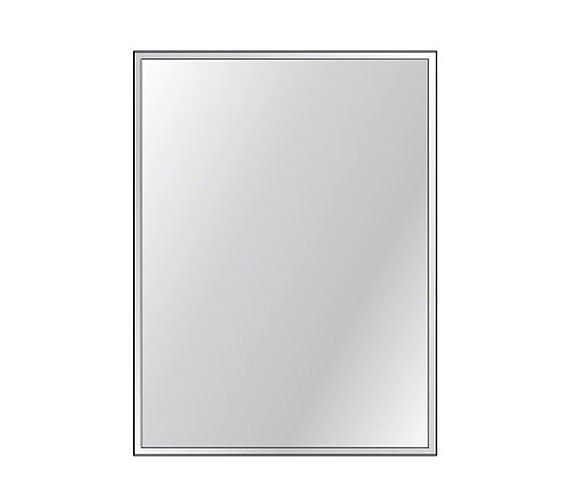 HIB Bevelled Mirror 4mm Float Glass 450 x 600mm 3 Piece Set