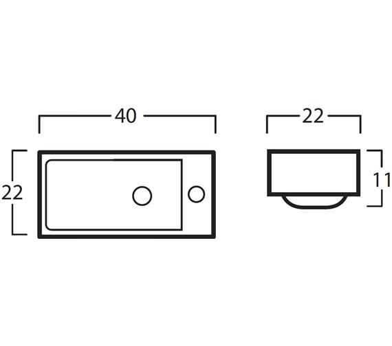 Technical drawing QS-V71982 / 8780
