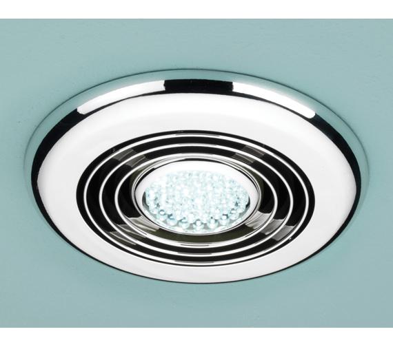 HIB Cyclone Wet Room Inline Illuminated Extractor Fan
