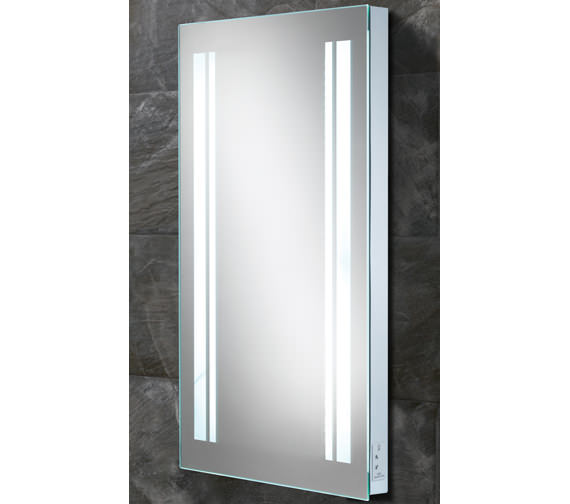 HIB Nexus LED Back-Lit Mirror With Shaver Socket - 77418000