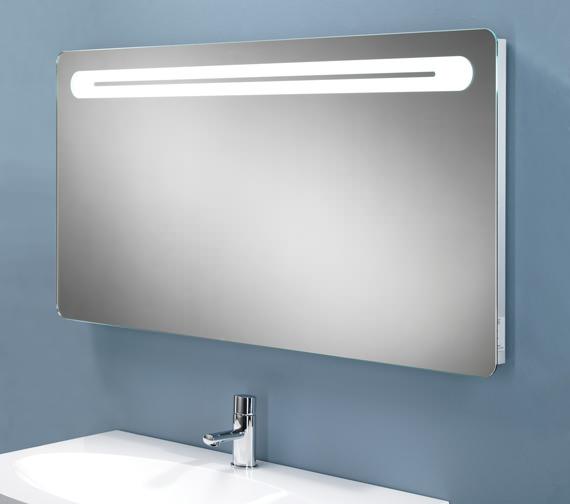 HIB Vortex LED Back-Lit Mirror With Shaver Socket - 77419000