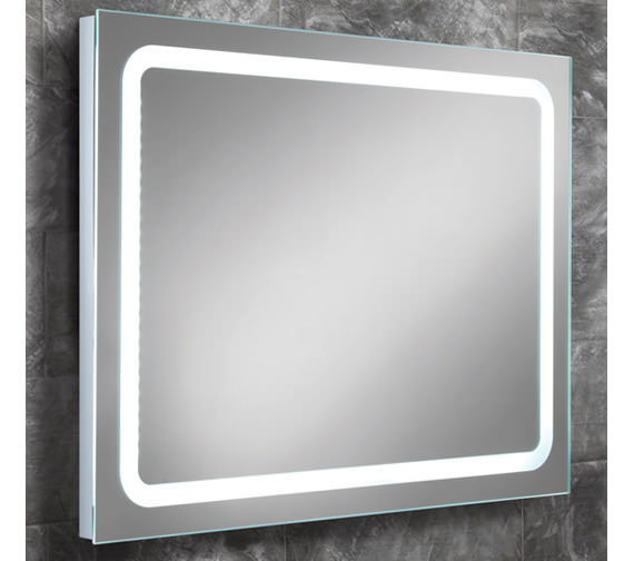 HIB Scarlet Steam Free LED Back-Lit Mirror 800 x 600mm - 77410000