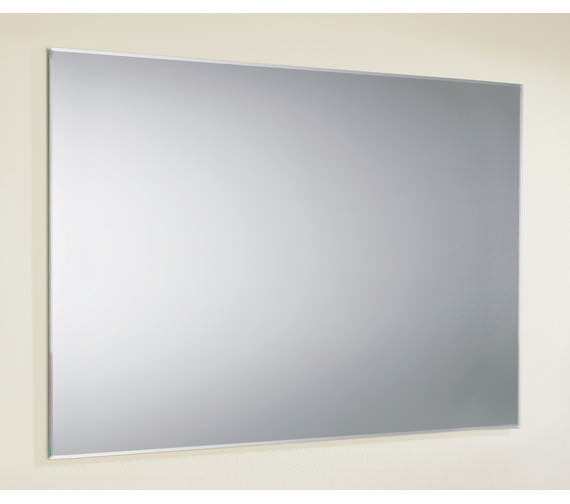 HIB Jackson Rectangular Bevelled Edge Mirror 800 x 600mm -76800000
