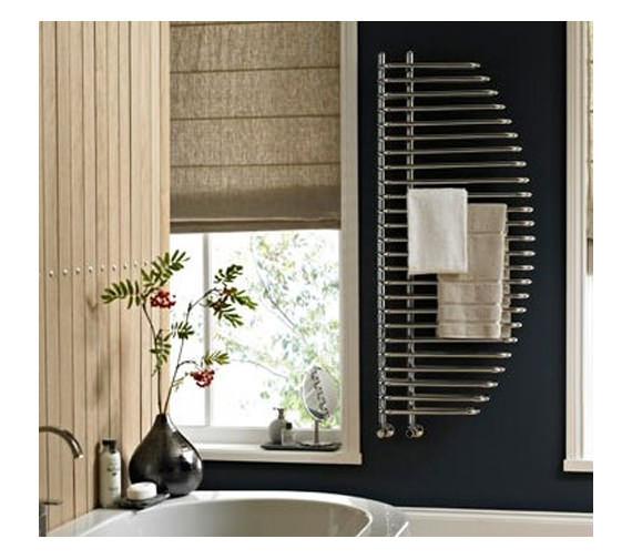 Vogue Marine Designer Towel Rail 600 x 1400mm Chrome