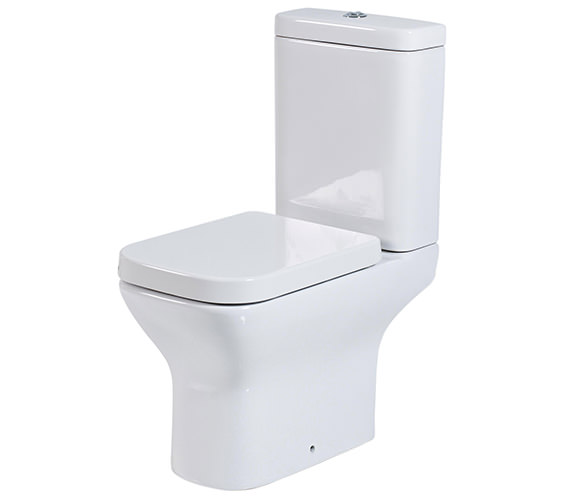 Phoenix Megan Close Coupled WC With Soft Close Seat And Cover