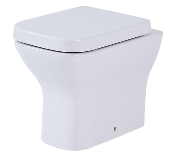 Phoenix Megan Back To Wall WC Pan With Soft Close Seat
