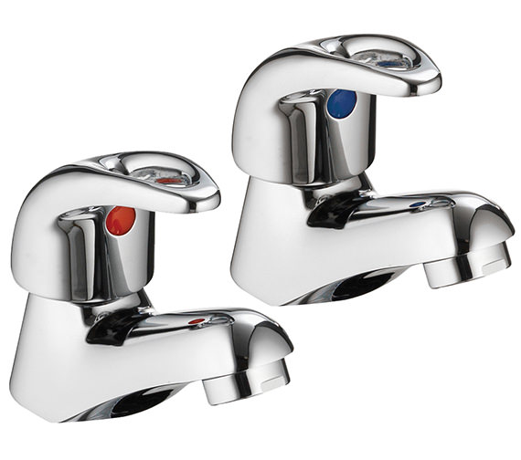 Pura Dv8 Pair Of Basin Taps - DV12