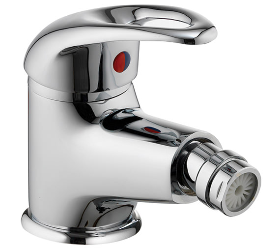 Pura Dv8 Bidet Mixer Tap With Clicker Waste - DVBID
