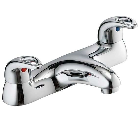 Pura Dv8 Deck Mounted Bath Filler Tap - DVBF