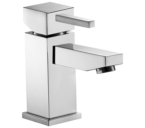 Pura Sq2 Single Lever Basin Mixer Tap With Clicker Waste - SQBAS