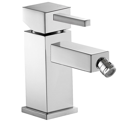Pura Sq2 Single Lever Bidet Mixer Tap With Clicker Waste - SQBID