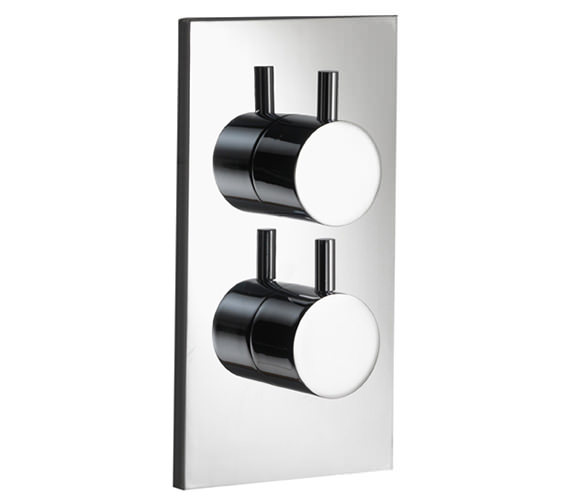 Pura Ivo Single Outlet Dual Control Concealed Thermostatic Shower Valve