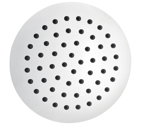 Pura Slimline Stainless Steel 200mm Round Shower Head