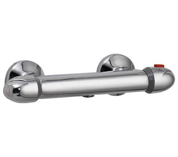Pura Thermoforce 1 Exposed Thermostatic Round Shower Valve