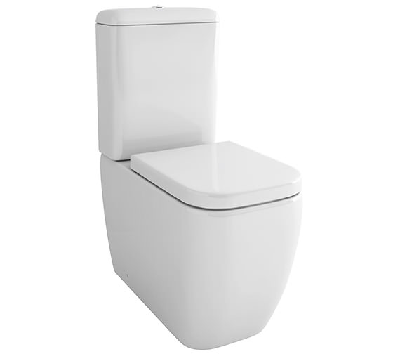 Pura Essence 660mm Close Coupled WC Bowl With Cistern