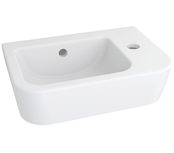 Pura Essence 365mm 1 Tap Hole Handrinse Basin