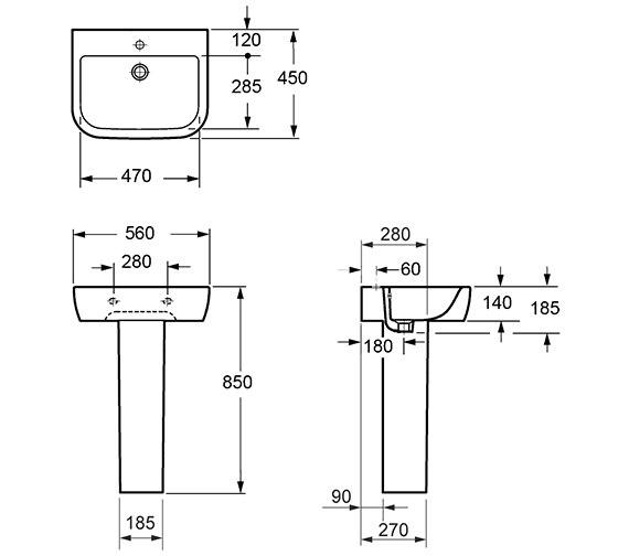 Technical drawing QS-V72197 / L10100
