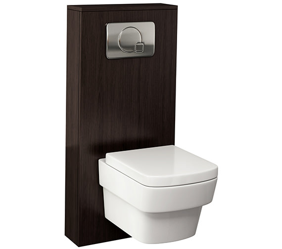 Additional image of Pura Echo Gloss White WC Cistern Frame Furniture Cover 500mm