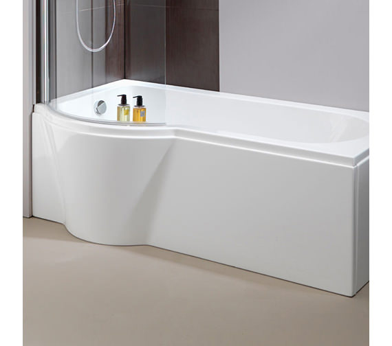 Pura Arco 1500mm Shower Bath Side Panel Left Hand