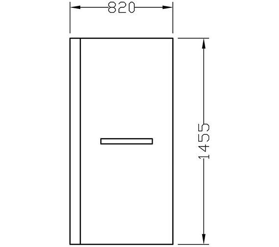 Technical drawing QS-V72281 / PBBQBS