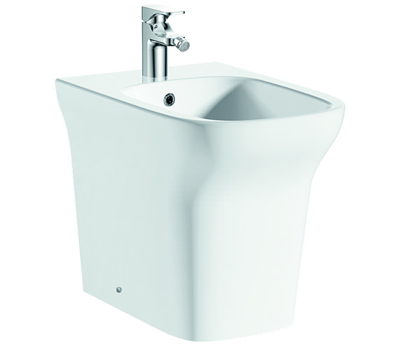 Pura Grace Floor Standing 1 Tap Hole Bidet 540mm - B10134