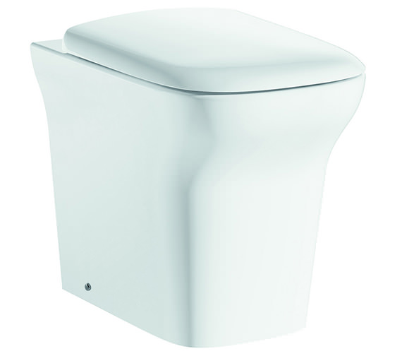 IMEX Grace Back-To-Wall WC Bowl And Soft Close Seat 540mm