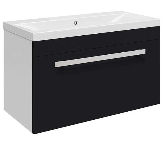 Beo Warner Wall Hung 600mm 1 Drawer Vanity Unit And Basin