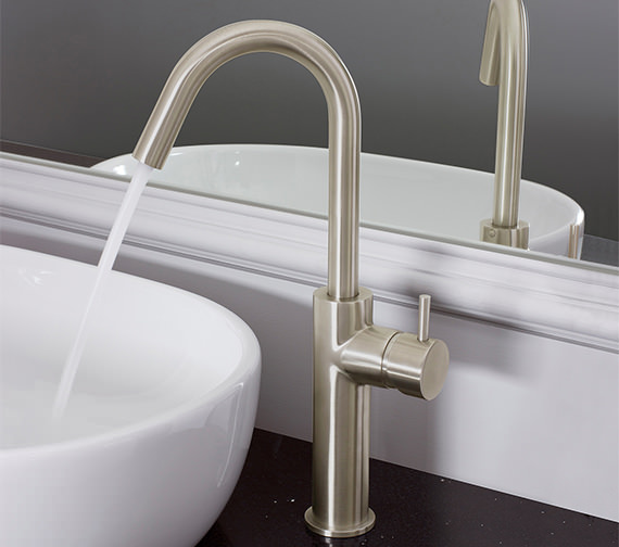 Crosswater Mike Pro Brushed Stainless Steel Tall Basin