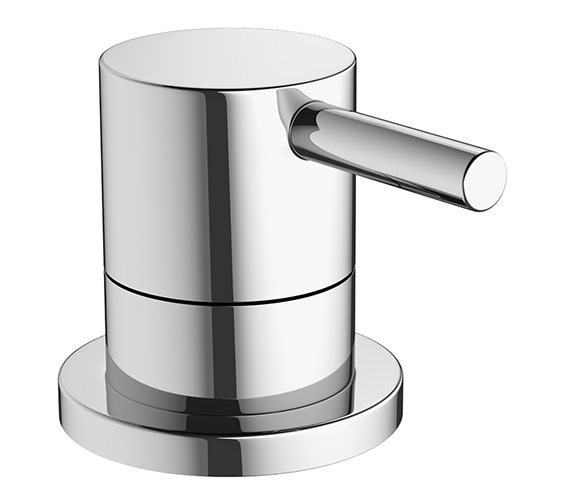 Crosswater Mike Pro Deck Mounted Chrome Bath 3 Way Diverter