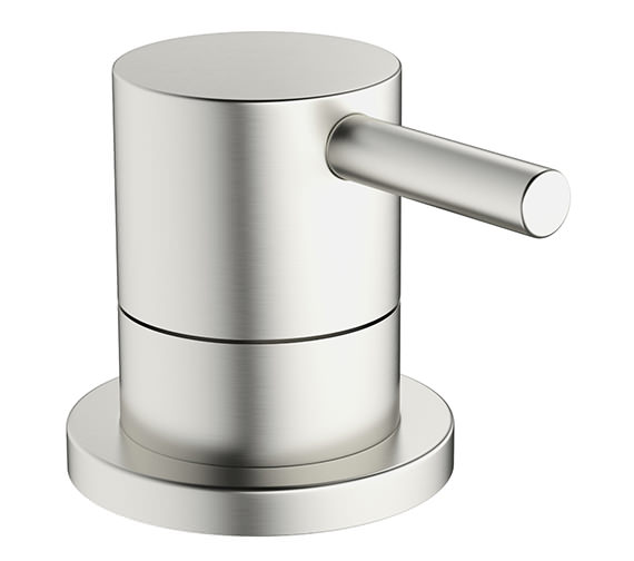 Crosswater Mike Pro Deck Mounted Brushed Stainless Steel Bath 3 Way Diverter