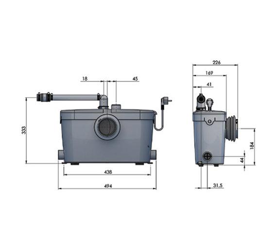 Technical drawing QS-V72657 / 1902