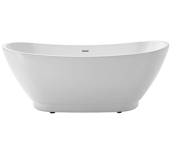 Heritage Merrivale Freestanding Double Ended Acrylic Bath 1760 x 680mm