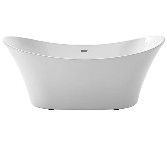 Heritage Penhallam Freestanding Double Ended Acrylic Bath 1700 x 700mm