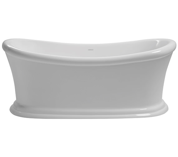 Heritage Orford Freestanding Double Ended Acrylic Bath 1700 x 740mm