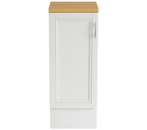 Heritage Caversham White Ash 320mm Furniture Base Unit KWA92