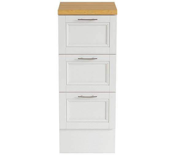 Heritage Caversham White Ash 320mm Furniture Drawer Unit