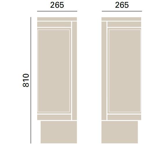 Technical drawing QS-V72683 / KOY50
