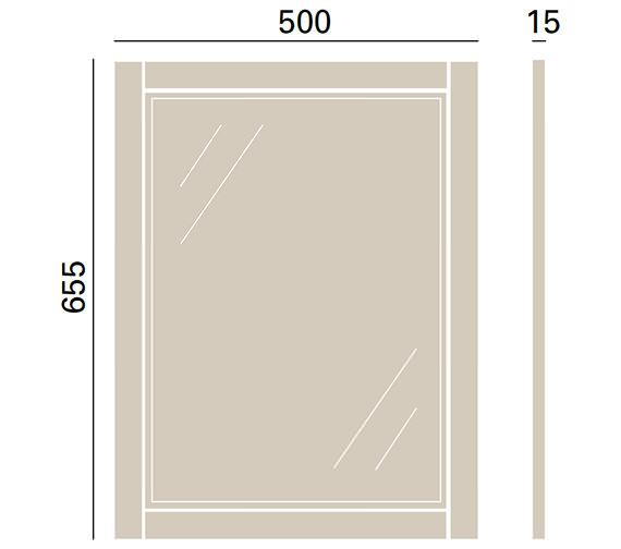 Technical drawing QS-V72687 / FFDGRMIR