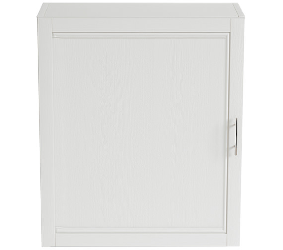 Heritage Caversham Traditional White Ash 560mm Wall Cabinet