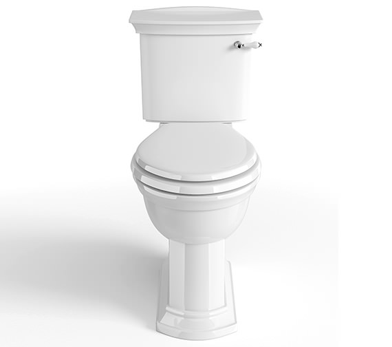 Heritage Blenheim Standard Height Close Coupled WC And Cistern 725mm