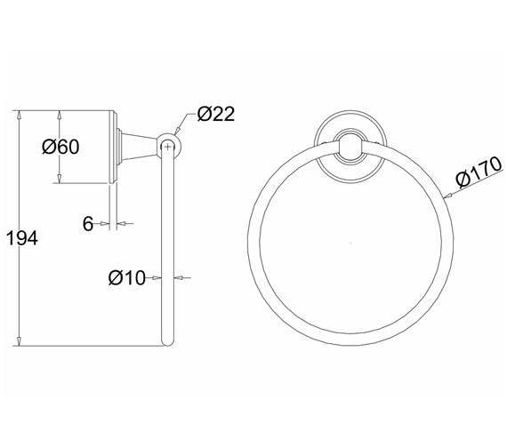 Technical drawing QS-V73049 / A3 CHR