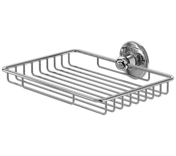 Burlington Chrome Plated Sponge Basket - A15 CHR