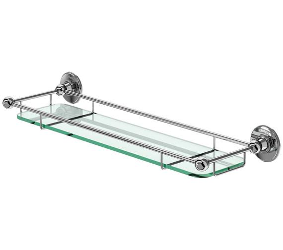 Burlington Shelf With Railing Chrome Plated - A18 CHR
