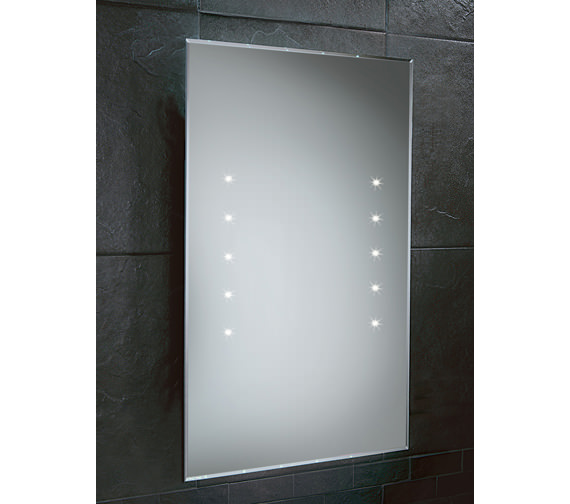 HIB Lunar LED Bathroom Mirror 400 x 600mm - 73104395